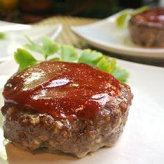 Gluten Free Individual Mini Meatloaf