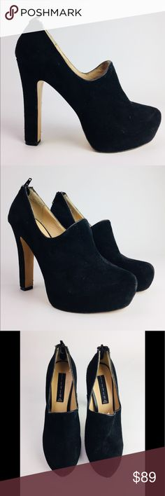 """VINTAGE STEVEN By STEVE MADDEN Heels Absolutely Gorgeous VINTAGE STEVEN By Steve Madden Suede Heels. Look Sharp With This 5"""" Heel. Super Sexy and Super Stylish. Great Condition. Steven By Steve Madden Shoes Heels"""