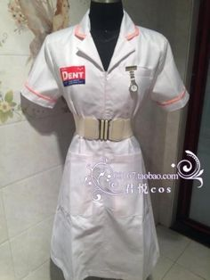 Joker Nurse Costume, Heath Legder, Full Body Costumes, Clubwear, Cosplay Costumes, Crop Tops, How To Wear, Outfits, Costumes