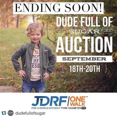 Don't forget about this amazing auction! So many great items to bid on!!!!  #Repost @dudefullofsugar with @repostapp.  @dudefullofsugar auction ends tomorrow 9:00 AM CST!  Lots of great items with zero bids!  Thanks to everyone who placed bids... Make sure you don't miss out and check it out! #Dexcom #Omnipod #typeone #type1 #type1diabetes #type1diabetic #typeonediabetes #typeonediabetic #diabetes #diabetic #auctionforcharity #igauction by pinkkskies