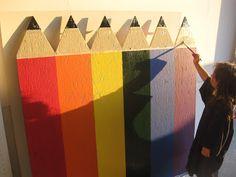 Mrs. Albanese's Kindergarten Class: Classroom Pencil Crayon Fence D.I.Y.