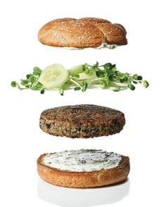 Quinoa & Zucchini veggie burgers. these have so much flavor!! today, a friend and i had a veggie burger tasting.  we made and tried 4 different recipes.  these were the best.  only change . . . cut back on the salt. 1 teaspoon should be sufficient.