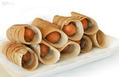 Tokyo Pancake Sausage Roll