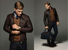 Massimo Dutti lookbook ai 2012-05 | Fashion Man