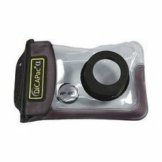 DicaPac Small Zoom Alfa Waterproof Digital Camera Case with Optical Lens (Clear) - - Product Description: The DicaPac Waterproof case for digital cameras ar