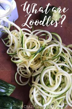 We LOVE zoodles! Zucchini noodles are such an easy way to add some veggies to your diet! Here is a tutorial about how to make zoodles.