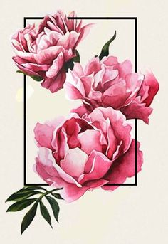 Tattoo idea #peony #geometric #graphic #tattoo