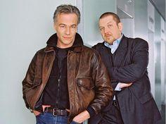 Ballauf & Schenk: Klaus J. Behrendt (li.) und Dietmar Bär