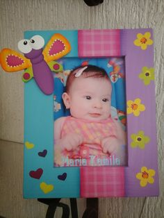 AVENTURAS COUNTRY Baby Art Crafts, Diy And Crafts, Arts And Crafts, Painting On Wood, Decoupage, Hello Kitty, Baby Shower, Photos, Cards