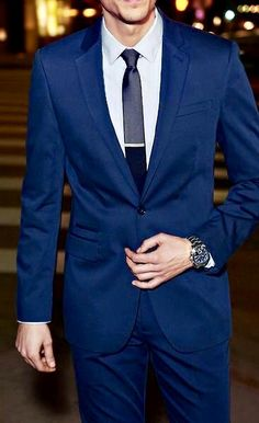Blue custom fitted suit. weddingideas #groom #groomsmen #weddings #mensfashion #bespoke #menstyle #menswear #weddingsuits #customsuits #menssuits #tuxedo #mens #weddingtuxedo #tux #giorgentiweddings #suit #summerstyle