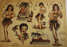 1967: Sailor Jerry (Keith Collins0 Hawaii Flash sheet.