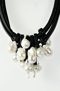 """Monies Baroque Pearl Necklace From the beautiful board of ! """"IOnlyDrinkChampagne"""" !"""
