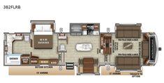 Mobile Living, Rv Living, Living Room, Modern Farmhouse Interiors, Cottage Interiors, Rv Floor Plans, House Plans, Fifth Wheels For Sale, 5th Wheels