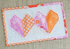 follow the link to the heart block tutorial Clover & Violet — A Dozen Pay It Forwards
