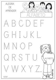 Atividades com o Alfabeto Pontilhado