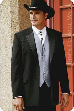 Lariat Western Tuxedo