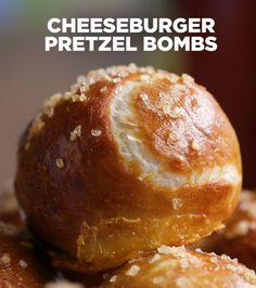 Cheeseburger Pretzel Bombs | Kick Off Your Game Day Celebration With These 3 Amazing Recipes