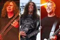 As 10 maiores bandas de Thrash Metal... sei não... colocaria outras em certos lugares