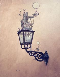 lamp illustration