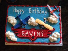 Disney Planes Birthday Cake!
