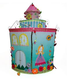 Lampshade Lock Princess Girls Kid s Room Children Lamp
