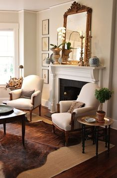 for the love of a house: spring living room with blue & white on the mantel. - for the love of a house: spring living room with blue & white on the mantel… - Formal Living Rooms, Home Living Room, Living Room Designs, Living Room Furniture, Furniture Stores, Apartment Living, Modern Living, Lounge Furniture, Furniture Sets