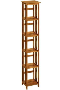 Home Decorators Collection MissionStyle Open Shelf Bookshelf In - Wide bookshelves
