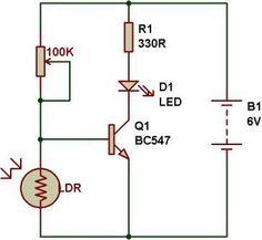 Dark light sensor