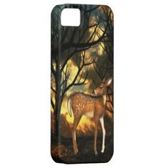 Fawn of the Forest iPhone 5 Case $44.95 by Graphic Allusions #iphone5