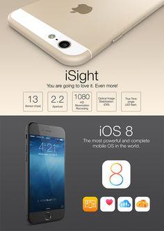 He Aquí los Posibles Grafismos del Nuevo iPhone 6 de Apple