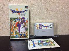 Dragon Quest V Super Famicom Japan NTSC-J boxed set Enix Nintendo Dragon Warrior