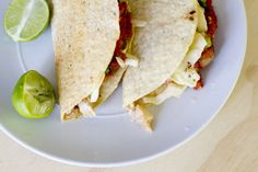 Nothing says light and fresh like fish tacos. Add this sweet and savory cranberry relish and it's spring/summertime!