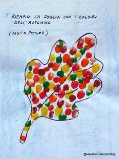 Maestra Caterina: Autunno: IL LIBRO DELLA FOGLIA ROSSELLA Crafts For 2 Year Olds, Halloween Crafts For Toddlers, Halloween Activities, Autumn Activities, Toddler Crafts, Diy Crafts For Kids, Art For Kids, Fall Arts And Crafts, Autumn Crafts