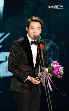Park Yoochun | 2014 SBS Drama Awards ceremony (141231)