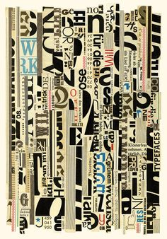 Hugo Werner Typographic Stripes