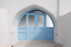 Το κούφωμα της κεντρικής καμάρας κατά απαίτηση του ιδιοκτήτη ακολουθεί το κτίσιμο της πέτρας που είναι ακανόνιστο. It was completely renovated and the frames, windows and doors were changed. The central arch doorway, at the request of the owner, followed the stone building's irregular structure.  #accoya #accoyawood #woodendoors #woodenwindows #woodenshutters #paros #kyklades #greece #architercture #dreamhouse #bestwoodaccoya #greekarchitecture #replacewindows #foldingframes #foldingshutters Wood Furniture, Mirror, Home Decor, Timber Furniture, Decoration Home, Room Decor, Mirrors, Log Furniture, Home Interior Design