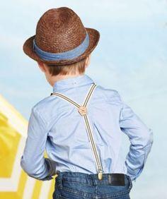 Dapper in suspenders. #boys #style