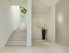White staircase. Nice.