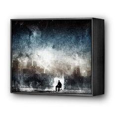 Aenema by Alex Cherry  Mini Art Block Frame - $35 at Eyes On Walls  http://www.eyesonwalls.com/collections/mini-art-blocks-by-alex-cherry/products/aenema-ax#  #art #gifts