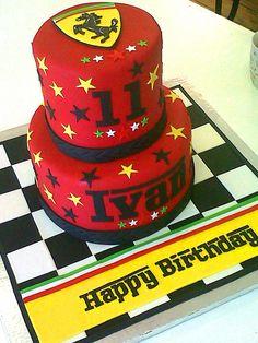 Red Ferrari Cake Images : 1000+ images about Ferrari birthday on Pinterest Ferrari ...