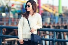 Lucky Community's Favorite Looks Of The Week: How To Dress Cozy Without Looking Sloppy : Lucky Magazine