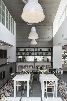 Country industrial grill house by Stones and Walls