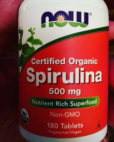 This is one of the few supplements I take. #spirulina #dcinhometrainer #health #fitness #nutrition #vegan