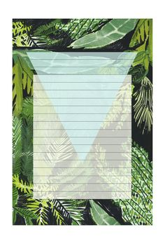 Keep this notepad handy for a reminder of warm summer days.