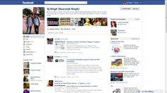 Facebook screenshot 2011