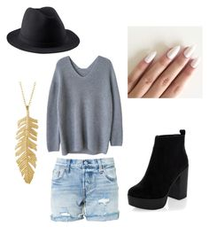 """""""Casual #1"""" by ania-kondrat on Polyvore featuring Levi's, New Look and A.P.C."""