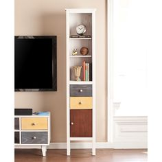 Upton Home Colburn 4-Drawer TV/ Media Stand | Overstock.com Shopping - The Best Deals on Entertainment Centers