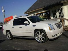 Escalade EXT I'm so in love with this truck!  Beautiful!!