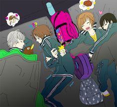 Aaww, poor Yosuke... He's cold... Don't worry, I'll cuddle up with you to keep you warm... X3