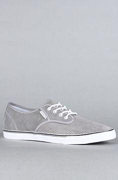 Gravis The Slymz Suede Sneaker in Frost Grey